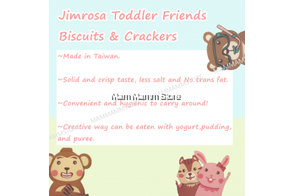 Jimrosa Toddler Friends Biscuits And Crackers For 18 Months And Above