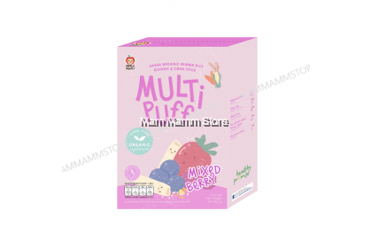 Apple Monkey Organic Multi Puff 25g For 8 Months And Above