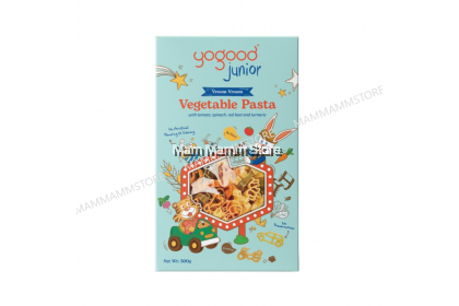 Yogood Junior Vegetable Pasta 300g For 18 Months And Above