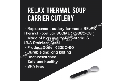 Relax Thermal Soup Carrier Cutlery K3380-90
