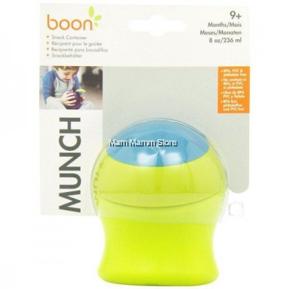 Boon Munch Snack Container Green (9 Months) 8OZ / 236ML
