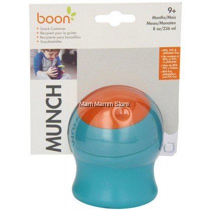 Boon Munch Snack Container Blue (9 Months) 8OZ / 236ML