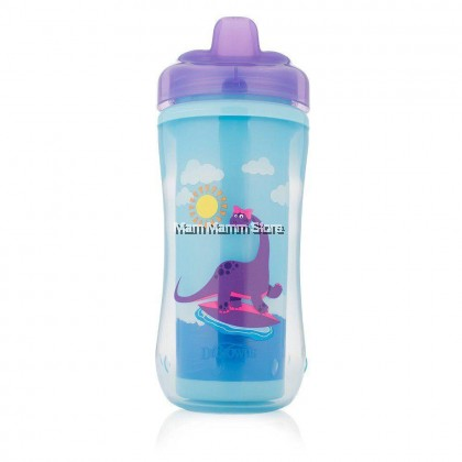 Dr Brown's Hard Spout Insulated Cup 300ML Purple (12 Months And Above) DB-TC01001