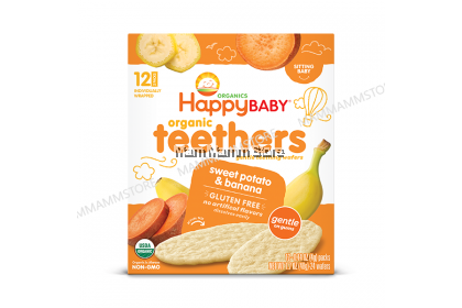 Happy Baby Organic Teether (4g x12) for 8m+