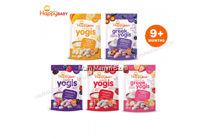 Happy Baby Organic Yogis 28g For 9 months and above