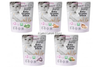 Bebedang Organic Brown Rice Stick Stage 2 30g for 6m+