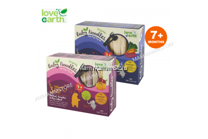 Love Earth Organic Baby Noodles 180g For 7 Months And Above