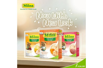 Milna Baby Cereal (6 Months And Above) 120g